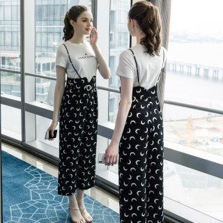 夏季新款版运动休闲时尚套装女宽松两件套潮适合微胖女生穿