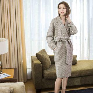【95%纯羊毛大衣】95%纯羊毛大衣高端轻奢羊毛双面呢