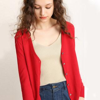 秋装新款针织12色初秋开衫外套披肩办公室必备品