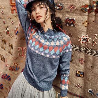 秋冬新款女装长袖针织开衫女士2019秋装新款短款宽松外穿百搭上衣毛线外套