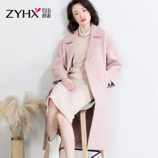 秋季外套女长款中长款2019春秋季外套女韩版宽松外套女