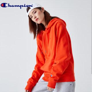 秋冬新款卫衣 男女同款加绒刺绣双标LOGO纯色连帽长袖卫衣