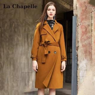 韩版新款冬季女装新款韩版中长款显瘦双面呢大衣外套女