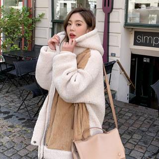 韩版新款2019冬装新款女装韩版宽松面包服棉衣棉服