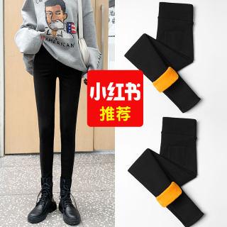 【加绒加厚 一条过冬】打底裤女秋冬季外穿高腰魔术小脚铅笔裤子女