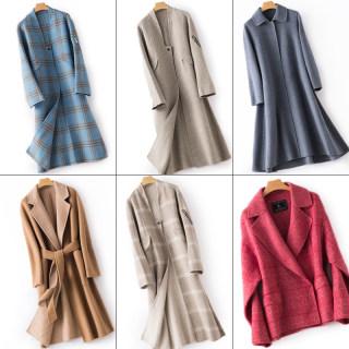 【100%羊毛大衣品代】手慢无20个款大衣气质纯羊毛双面呢大衣