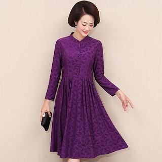 旗袍新款长袖连衣裙大码婚礼仿旗袍裙子