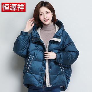 【加绒加厚】2020秋冬新款羽绒服女短款外套