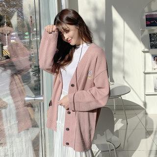2020春装新款韩版洋气毛衣针织开衫女毛针织衫