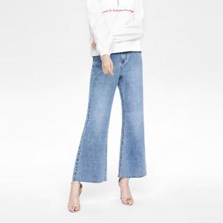 2020春季新品女装街头风牛仔裤长裤