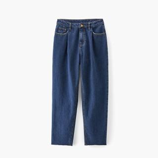 2020春季新品女装工装风宽松版型牛仔裤长裤