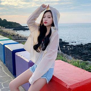 2020夏季新款韩版防紫外线薄款户外防晒短外套女