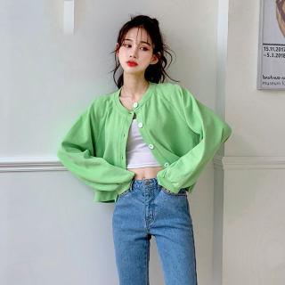 2020春新款韩版女装棒球宽松洋气上衣ins短外套