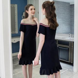 大码女装新款夏装2020胖妹妹显瘦仙女裙胖mm减龄遮肚子连衣裙