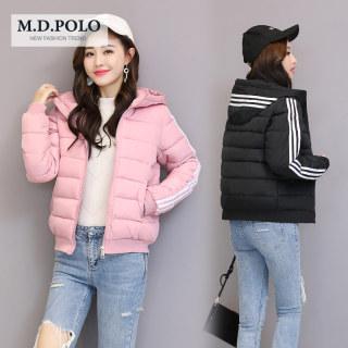 连帽棉衣女短款2020冬装新款棉服女士韩版棉袄宽松加厚面包服外