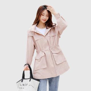 中长款风衣女2020新款春韩版收腰显瘦时尚流行外套ins潮休闲薄