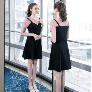 2020夏装新款胖mm大码女装减龄甜美裙子宽松显瘦遮肚连衣裙