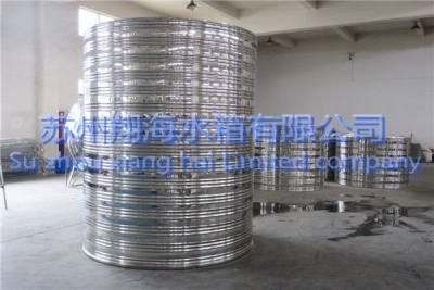 圆柱形平底平顶水箱