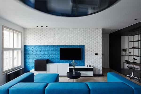 「3dsmax」20个客厅电视背景墙设计