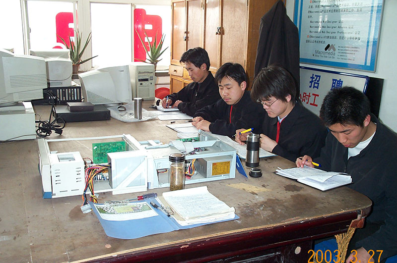 太原长城计算机学校外设实习机房
