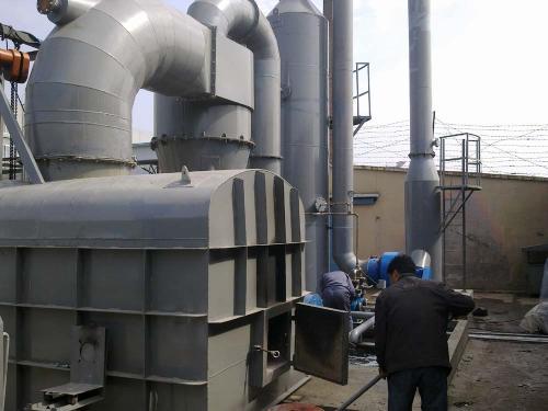 使用废气焚烧炉达到更好环保效...