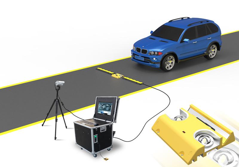 ZA-UVSS-I 移动式车底扫描,车底检查系统