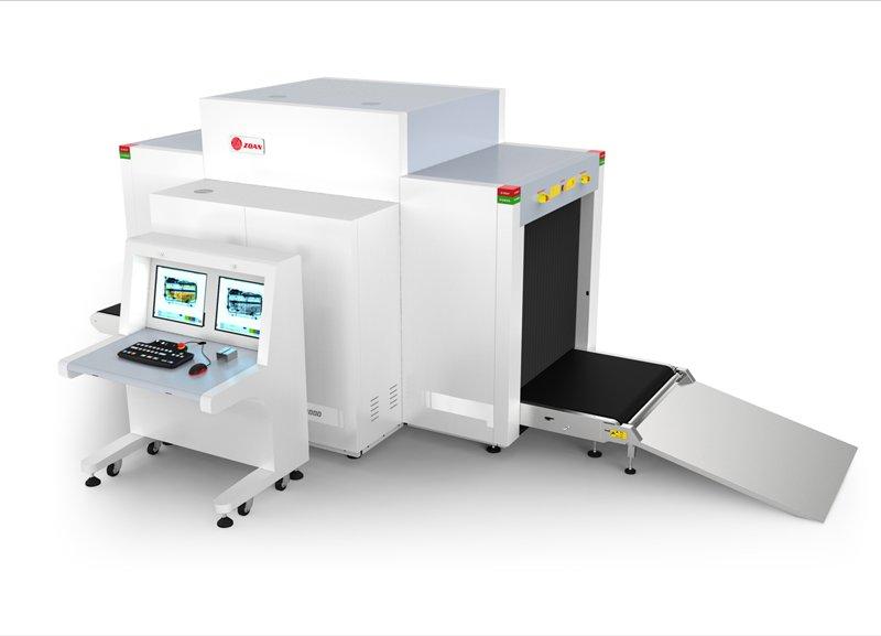 ZA100100D(双源双视角)通道式X光安检机