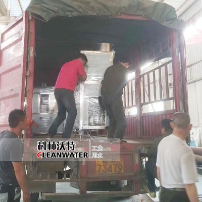 [发货]200桶全套纯净水设备自动生产线发往湖北