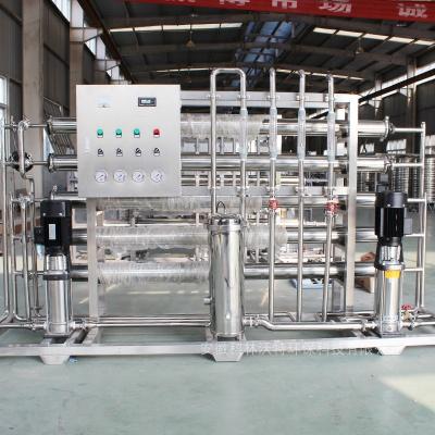 2吨双级全不锈钢纯净水设备