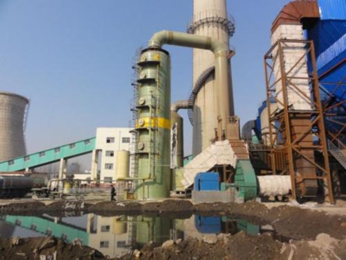 造成脱硫塔塔堵的原因主要是硫...