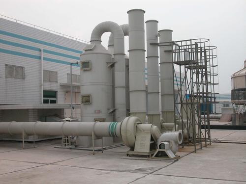 脫硫脫硝設備之自來水專用二氧...