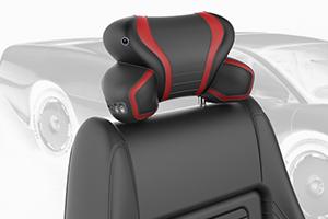 汽车多功能头枕设计