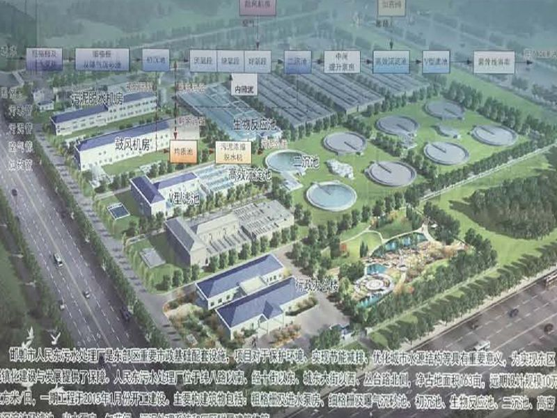 邯郸市人民东污水处理厂