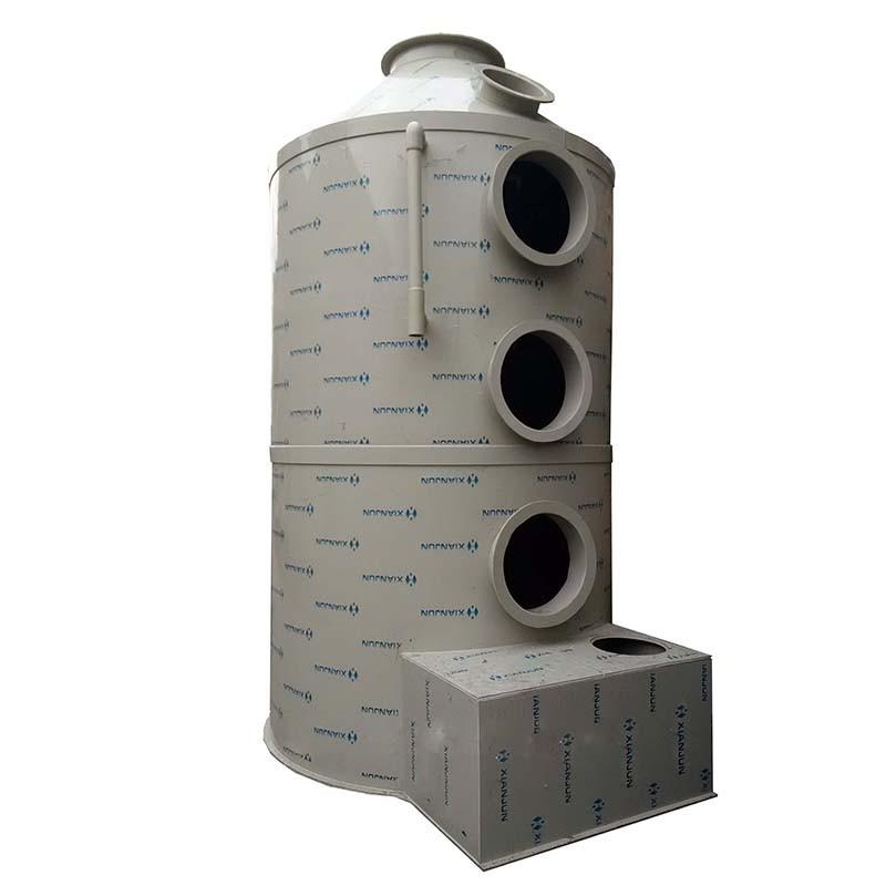 喷淋净化塔 洗涤塔  净化塔 水喷淋过滤塔