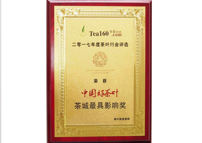 14-茶城最具影响奖2017年