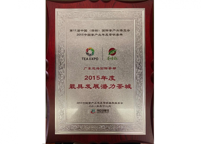 12—2015年度最具发展潜力茶城-2015.12