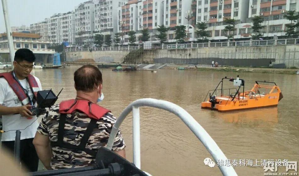 广东配备首艘无人驾驶收油机