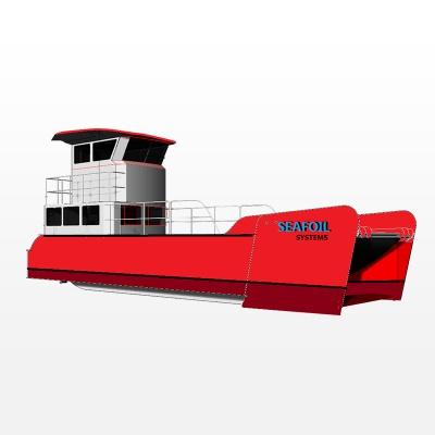 中、小型溢油回收船(自航式收油机)