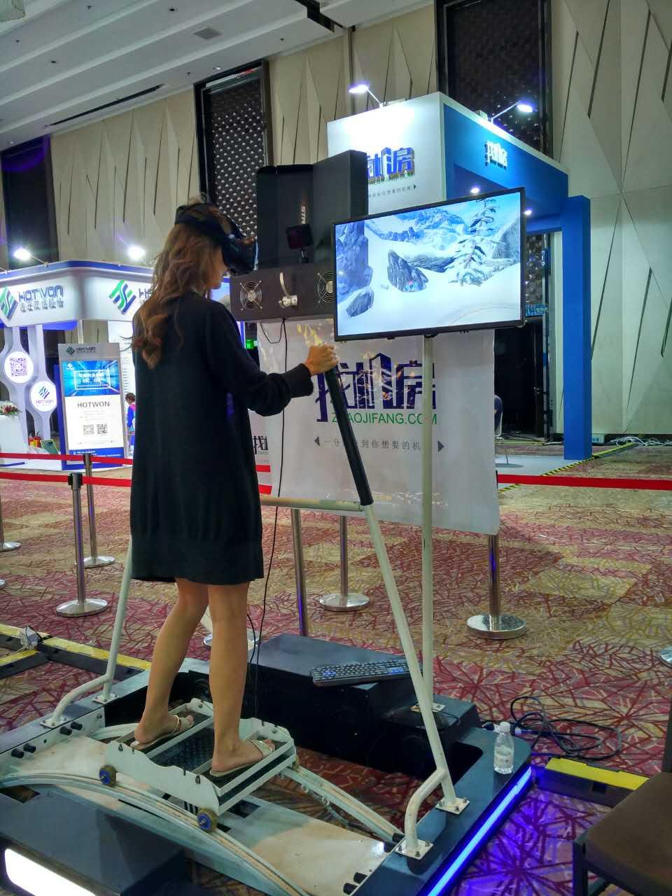 VR滑雪设备租赁