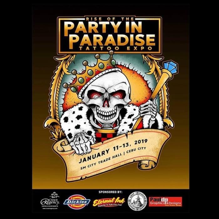菲律宾派对在天堂纹身博览会