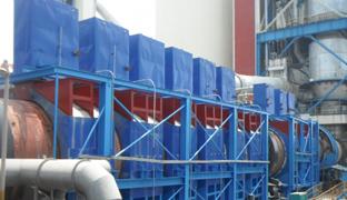 回转窑表面热量回收利用集热器