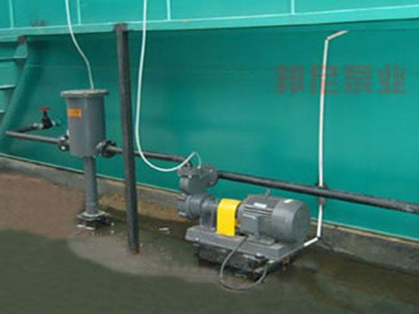 浙江嘉兴茶印染公司50BXG5.5气液混合泵