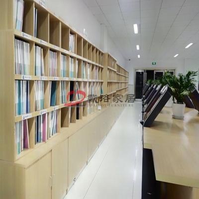 办公室文件柜员工柜贴壁式文件柜无锁壁柜