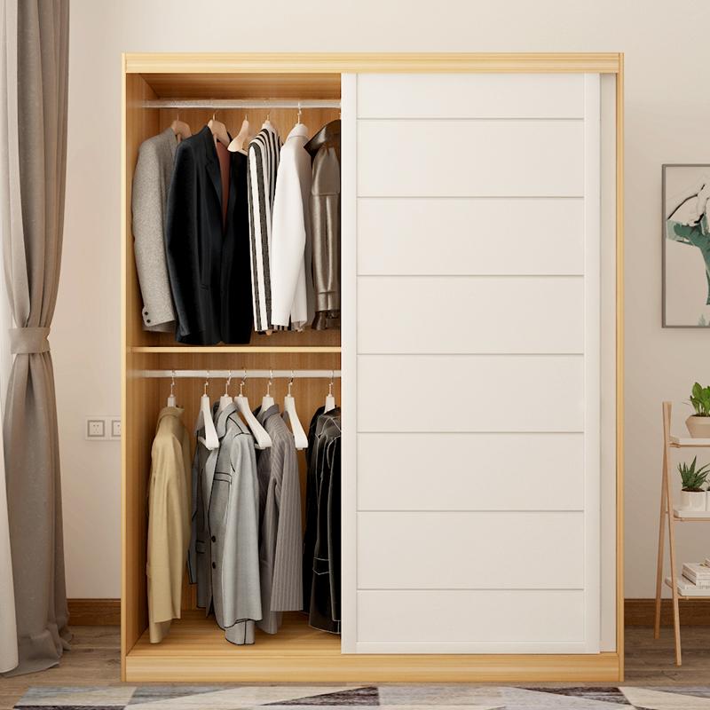 现代北欧式风格推拉门大衣柜