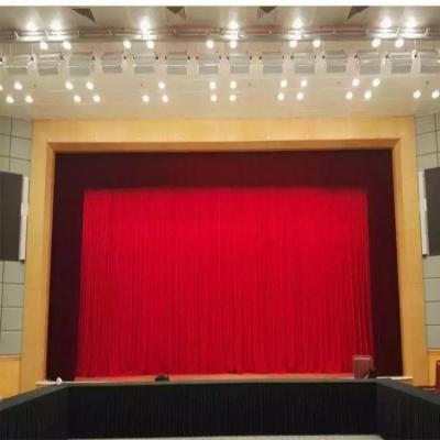 剧院会场演出舞台幕布设计会议室礼堂背景幕布 样式齐全