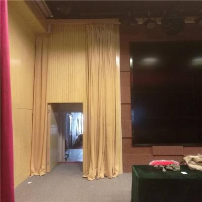 会场舞台幕布订做会场剧院电动手动舞台幕布面料齐