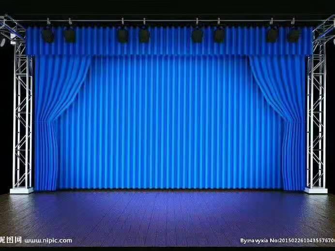 弧形舞台幕布天鹅绒 规格多样选择广 投影幕布直销品牌商