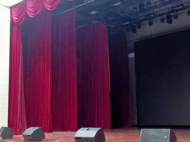 舞台幕布会议幕布沙幕 天幕阻燃幕布电动幕布 天鹅绒幕布