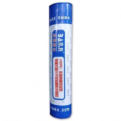 (HDPE)非沥青基反应型预铺式高分子反粘膜防水卷材