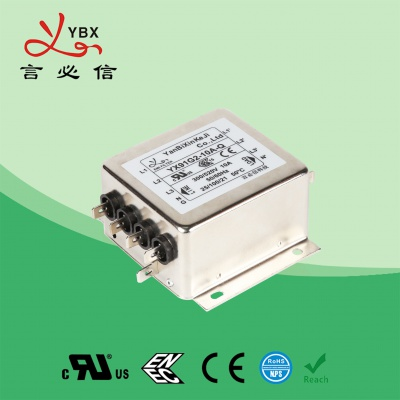 工业加强型emi电源滤波器电流10A